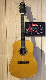 Larson Bros. Heritage 1934 D Euphonon NOS, Vintage Amber, Westerngitarre, Handmade in France (Maurice Depot), Musik Fabiani Guitars - 75365 Calw, Stuttgart, Herrenberg, Sindelfingen