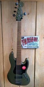 Fender Squier Jazz Bass Contemporary V / E- Bass, Fender Squier Bass, Color: Elektrische 5 Saiter-Bassgitarre, Musik Fabiani Guitars, Calw, Karlsruhe, Pforzheim, Stuttgart, Herrenberg, Nagold, Rothenburg a.d. Tauber
