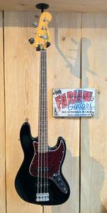 Fender Squier Jazz Bass Classic Vibe´60, E- Bass, Elektrischer Bass-Strat, Bassfarbe: Schwarz Hochglanz, Musikhaus Calw Fabiani Guitars, Baden Baden, Karlsruhe, Pforzheim, Stuttgart, Herrenberg, Nagold, Altensteig