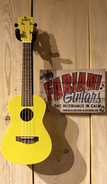 Koki´o Palau  Concert- Ukulele, Konzertukulele, Gelb, Hawaii Ukulele, Musikinstrumente - Fabiani Guitars Calw, Renningen, Leonberg, Stuttgart-Vaihingen