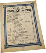 Марсельеза, переложение Фердинанда Бейера, ноты для фортепиано