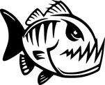boxer homme poisson