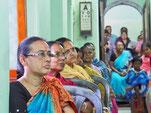 Patientinnen im Ambulatorium des S.B. Devi Charity Home
