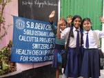 Das S.B. Devi Charity Home berät Schulkinder zur Gesundheit