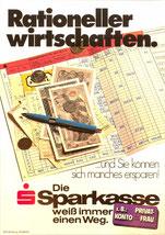 Rationeller wirtschaften.  ...und Sie können sich manches ersparen. Die Sparkasse weiß immer einen Weg. Z.B.: Privatkonto für die Frau.