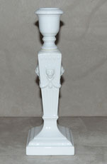 Klassischer Porzellan Kerzenleuchter, Royal Copenhagen Denmark, Löwen, € 125,00