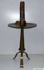 Riesiger Kerzenständer, Messing, 50er Jahre, 74,0 cm, € 360,00