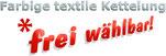 Autofussmatten - in grau, farbige und textile Kettelung FREI WAEHLBAR/13 Kettelfarben
