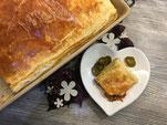 Empanada Grande- ein Hackfleisch-Blätterteig-Kuchen