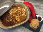 Pulled Chicken aus dem Ofenmeister