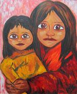 gemaltes Bild Kinder © Christiane Ros