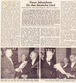 Zeitungsbericht 90. Jubiläum