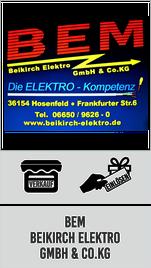 Beikirch Elektro - Verkaufsstelle und Einlösestelle Südwest-Guschein Regionalforum Fulda Südwest