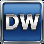 DW Tractors logo