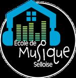 Dans le 1000 Communication - Agence graphique en Loir-et-Cher - Création de logos et de chartes graphiques - Logo de l'école de musique selloise de Selles-sur-Cher