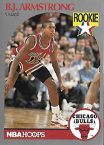 B.J. ARMSTRONG / Rookie card - No. 60