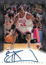 ELTON BRAND / Certified Auto Issue - No. EB