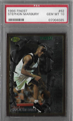 STEPHON MARBURY / Rookie card - No. 62