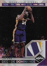 SHAQ O´NEAL / Decade Dominance - No. 11  (#d 9/25)