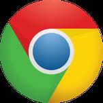 Logo des Google Chrome Browsers