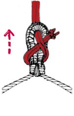 ロープの縛り方4