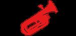 Les Zikautain - Fanfare, harmonie musicale - Animation événements famille fêtes de villages - Les barytons