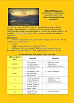 Programme de la remise des prix du Défi Sud Trail's 2015