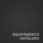 Equipamiento hoteles |