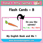 EFL kindergarten flashcards