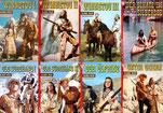 8 Sonderausgaben von Karl-May-Romanen im Kelter-Verlag