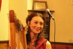 Compagnie d'Azur Wezen Concert Harpe Celtique Alicia Ducout Marc Blanchard Cour des Miracles