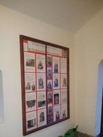 Plakat zu den Totenkronen der Kirche Dobraschütz