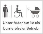 Autohaus Burger barrierefrei