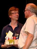 Roman Twardy wurde in sein berufliches Sabbatjahr verabschiedet