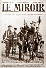 Page de couverture du Miroir durant la guerre 14 18