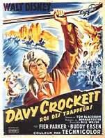 Affiche du film Davy Crockett