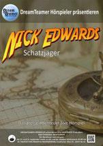 Plakat Nick Edwards Schatzjäger