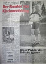 Die Schlagzeilen machte weiter Günter Wimmer