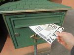 Distribution en boîte aux lettres