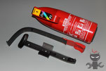 Installation of Fire extinguisher BMW E39