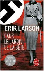 Meilleur livre, Dans le jardin de la bête Erik Larson