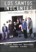 Cartel de la película, dirigida por Mario Camus en 1984.