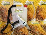Dispenser per ProBee®, probiotico per apicoltura.