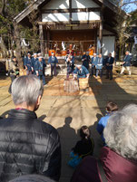 2020 1月19日(日)代田八幡宮