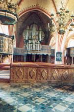 Orgel von 1869  Sankt Laurentius Kalkhorst