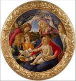 """""""La Madone du Magnificat avec été peinte par Sandro Botticelli..."""" (p.59)"""