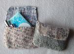 そがまつみ フェルト フェルト作家 布フェルト 手作り ハンドメイド ポーチ 羊毛 ウール