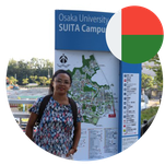 Ms. Rasolonaivo Andriamanasina Rojoniaina, PhD Student in Japan from Madagascar