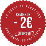 Carte loisirs 66 - réductions Perpignan téléski barcares