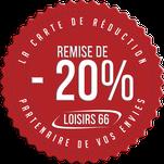 Carte LOISIRS 66 réductions Perpignan Canet